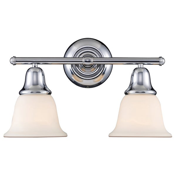 Berwick Polished Chrome 2-light Vanity