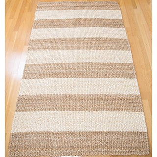 Handspun Jute Carpet Natural Ivory 5'X8'