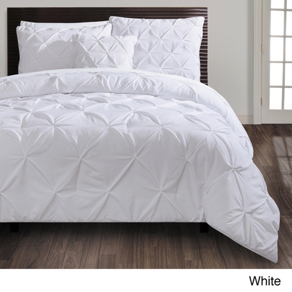 Carmen 4-piece Comforter Set King-White (As Is Item)
