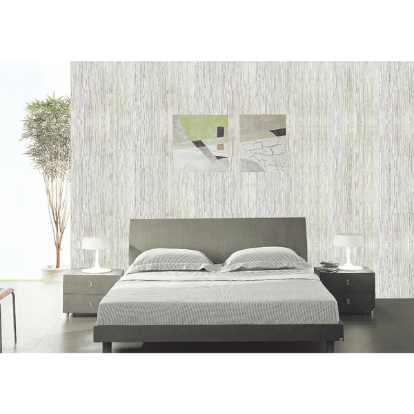 Multi-Shimmer Grey/ Off White Wall Paper