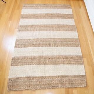 Handspun Jute Carpet Natural/Ivory 8'X10'