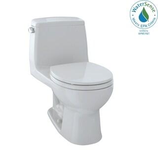 Toto Eco UltraMax One-Piece Round Bowl 1.28 GPF Toilet, Colonial White (MS853113E#11)