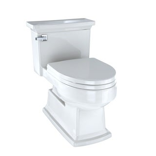Toto 1-piece Toilet Lloyd High Efficiency Toilet Colonial White