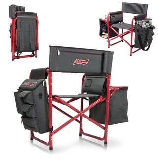 Dark Grey/ Red (Budweiser) Digital Print Fusion Chair