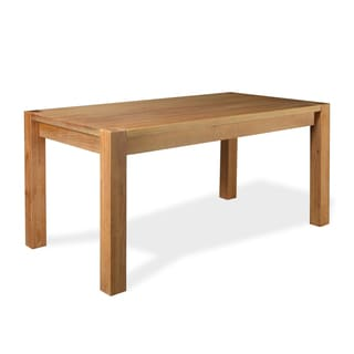 Linear 63 Inch Dining Table - Solid Wood - Finish Acacia