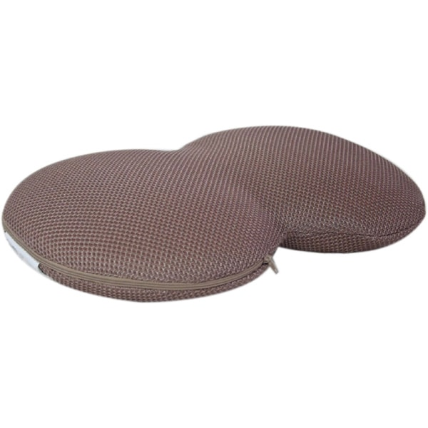 Light Brown Memory Foam Seat Cushion