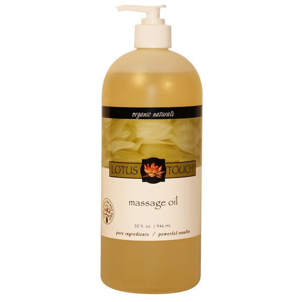 Lotus Touch Organic Naturals Massage Oil 1/2 Gal