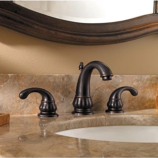 Pfister Treviso Lavatory 49 8-15-inch with Metal Pop-up Tuscan Bronze Bathroom Faucet