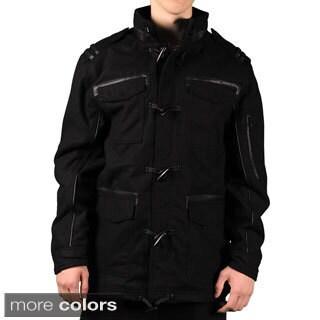 Sportier Men's Wool Blend Toggle Jacket