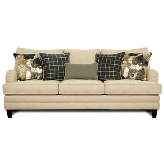 Furniture of America Ivelina Contemporary Ivory Sofa