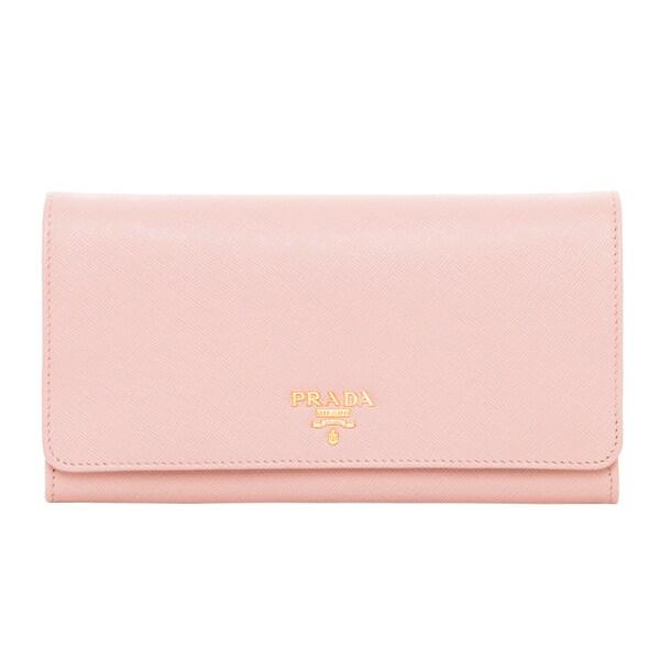 prada white wallet overstock
