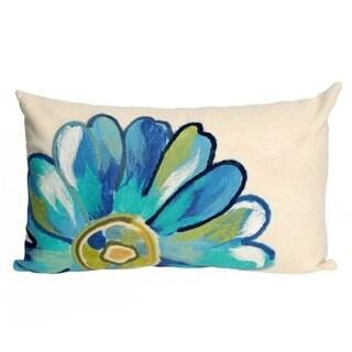 Gerber Aqua Indoor/Outdoor Throw Pillow