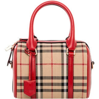 Burberry Small Alchester in Horseferry Check