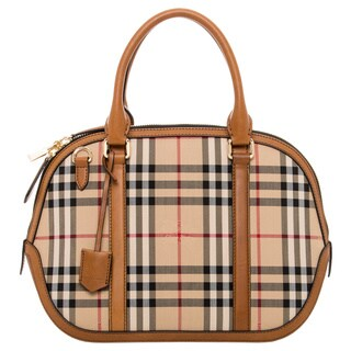 Burberry Small Horseferry Check Orchard Satchel