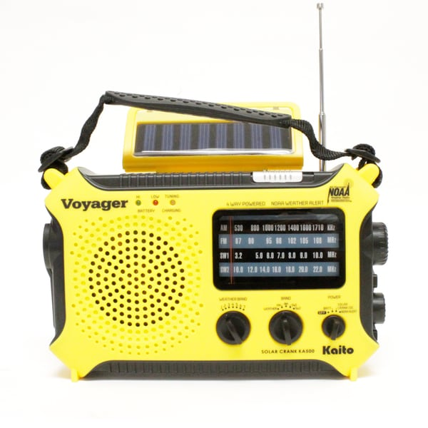 Voyager Solar Power AM/FM Radio