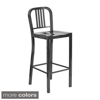 Offex Home Office 30-inch Metal Bar Stool
