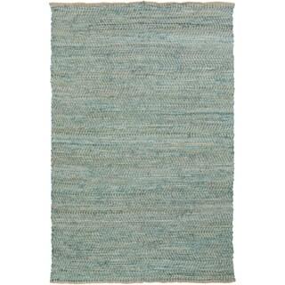 Hand-loomed Frantz Stripe Reversible Rug (2' x 3')
