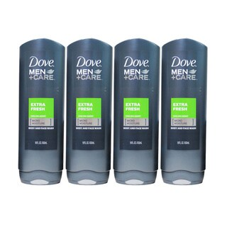 Dove Men + Care Extra Fresh 18-ounce Body and Face Wash (Pack of 4)