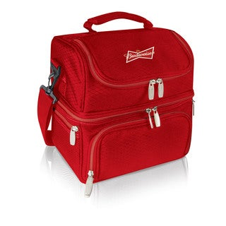 Pranzo Red Budweiser Digital Print Personal Cooler