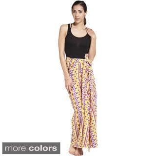 Women's Colorful Aztec Print Sarong Wrap (Indonesia)