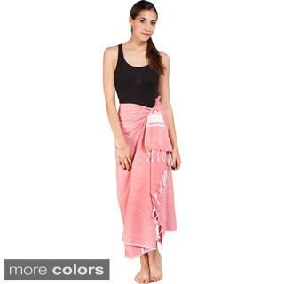 Women's Summer Fouta Cotton Sarong Wrap (India)