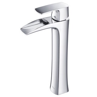 Rivuss Carrion Lead-Free Solid Brass Single-Lever Bathroom Vessel Sink Faucet-Chrome