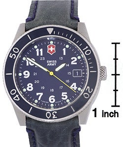 Swiss Army Men's Lancer Blue Dial Watch