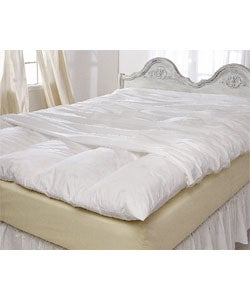 All Cotton 230 Thread Count Featherbed Protector
