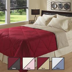 All Season Down Alternative Reversible Diamond Comforter