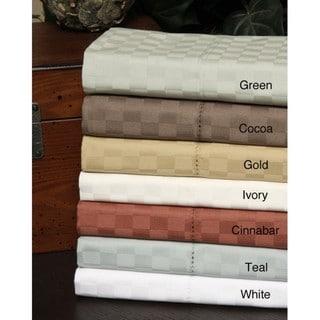 Andiamo Egyptian Cotton 500 Thread Count 4-piece Sheet Set
