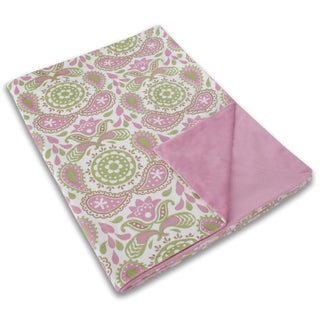 Baby Paisley Microplush 44x60-inch Throw