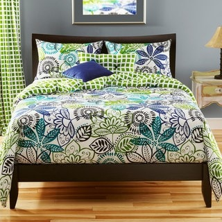 Bali Reversible King-size 6-piece Duvet Cover Set