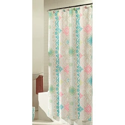 Lorimer Fabric Shower Curtain with Hooks