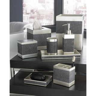Trump Home Parc East Grid Bath Accessory Collection | Overstock