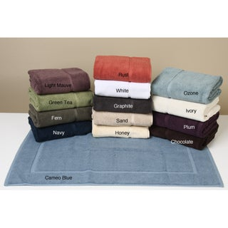 Supreme 1200-gram Two-Ply Cotton Soft Absorbent Bath Mats (Set of 2)