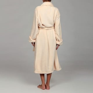 Woven Workz Unisex 'Boston' Oatmeal Microfiber Bath Robe