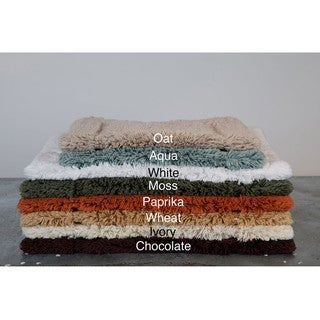 100-percent Egyptian Cotton Plush No-slip Bath Rug (24' x 34')