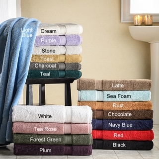 Luxurious 900-gram Egyptian Cotton Bath Towels (Set of 2)