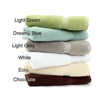 Pure Fiber Organic Comb Cotton Towels (Set of 3)