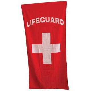 Lifeguard Beach Towel