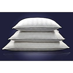 Beauty Stripe 310 Thread Count Siberian White Down Pillow