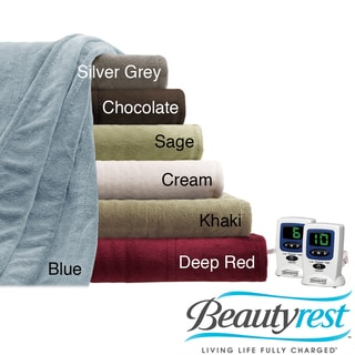 Beautyrest Cozy Plush Twin/ Full-size Electric Blanket