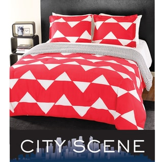 City Scene Ric Rac 7-piece Bed in a Bag with Sheet Set