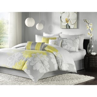 Madison Park Brianna 9-piece Bed in a Bag with Sheet Set