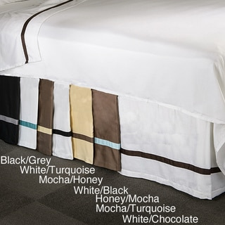 Hotel Collection 15-inch Drop 3-side Bedskirt