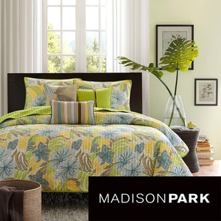 Madison Park Fiji 6-piece Coverlet Set
