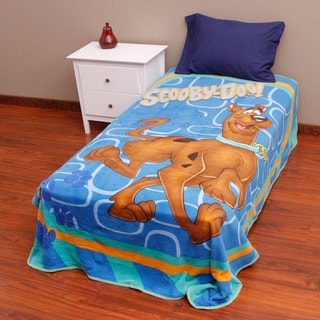 Scooby Doo 'Funny Scooby' Microplush Blanket