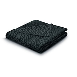Bocasa Cosy Empire Black Blanket