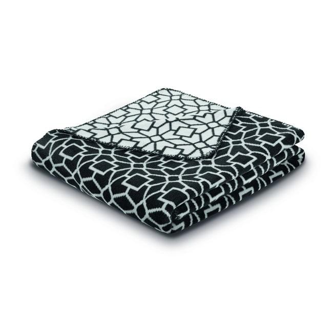 Bocasa Cuddly Casa Black Blanket