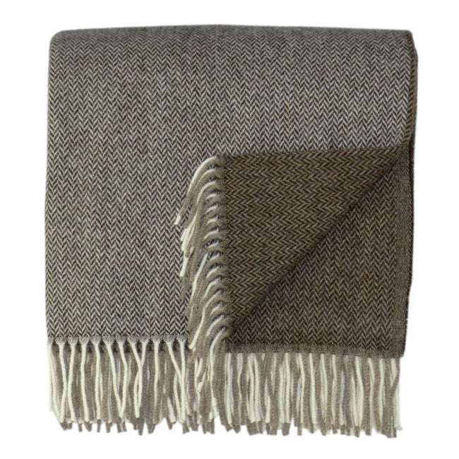 Bocasa Duo Woven Cashmere Blanket